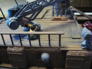 Poop Deck Magnet + Ship's Crane