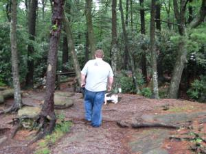 Swamp Gobbing in Cook Forest with Bob D. Beagle