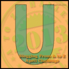 U U Is For Uni The Unicorn Keep Rollin Sixes