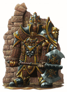 Gold Dwarf Knight