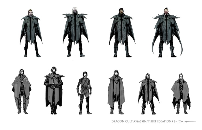 Dragonclaw armor and outfits