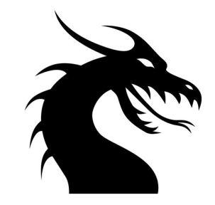 dragonblacksilhouette