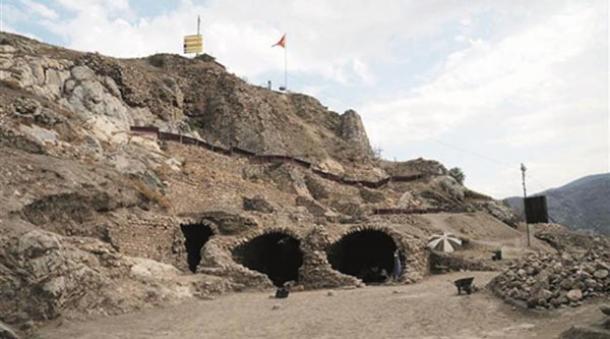 Tokat Castle Tunnels