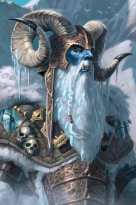 GRUGNUR, THE FROST GIANT JARL