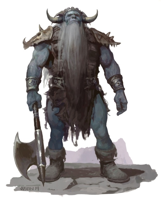 Frost Giant by JUSTIN
