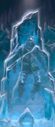 DEEK CROODLE, FROZEN IN ICE
