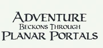 SpellJammerPlanescapeAdventure