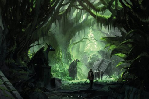 discovery_in_the_jungle_by_nele_diel-dal2d18